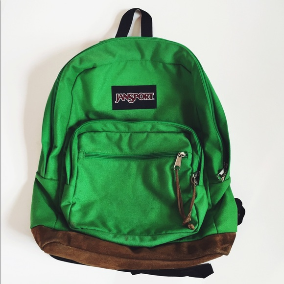 separation shoes crazy price price Green Jansport backpack
